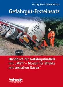 Hans-Dieter Nüßler: Gefahrgut-Ersteinsatz, Buch