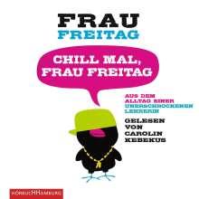 Chill mal, Frau Freitag, 3 CDs