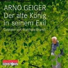 Arno Geiger: Der alte König in seinem Exil, 4 CDs
