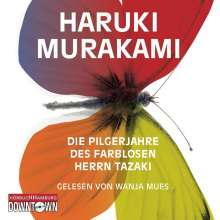 Haruki Murakami: Die Pilgerjahre des farblosen Herrn Tazaki, 7 CDs
