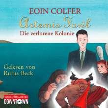 Eoin Colfer: Artemis Fowl - Die verlorene Kolonie, 6 CDs