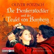 Oliver Pötzsch: Die Henkerstochter und der Teufel von Bamberg, 6 CDs