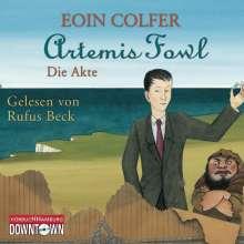 Eoin Colfer: Artemis Fowl - Die Akte, 3 CDs