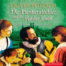 Oliver Pötzsch: Die Henkerstochter und der Rat der Zwölf (Die Henkerstochter-Saga 7), 2 CDs