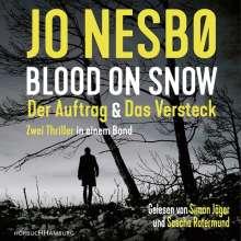 Jo Nesbo: B.On Snow.Der Auftrag & Das Versteck, 2 CDs