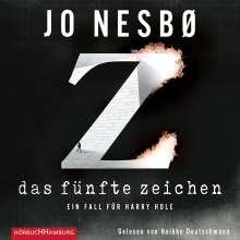 Jo Nesbo: Das Fünfte Zeichen, MP3-CD