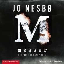 Jo Nesbø: Messer (Ein Harry-Hole-Krimi 12), 2 MP3-CDs