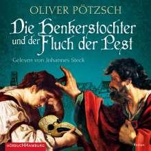 Oliver Pötzsch: Die Henkerstochter und der Fluch der Pest (Die Henkerstochter-Saga 8), 3 CDs