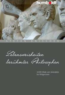 Lebensweisheiten berühmter Philosophen, Buch