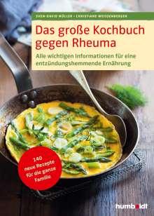 Sven-David Müller: Das große Kochbuch gegen Rheuma, Buch