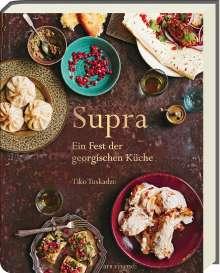 Tiko Tuskadze: Supra, Buch