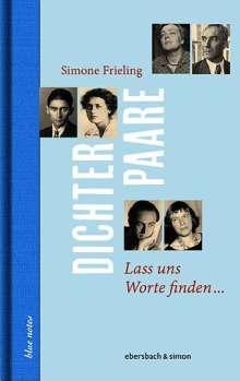Simone Frieling: Dichterpaare, Buch