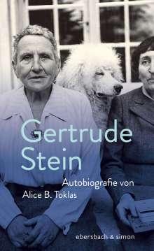 Gertrude Stein: Autobiografie von Alice B.Toklas, Buch