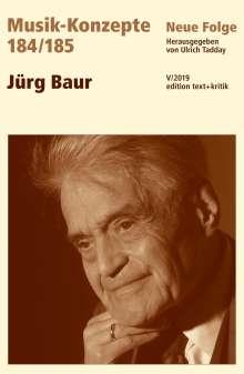 Jürg Baur, Buch