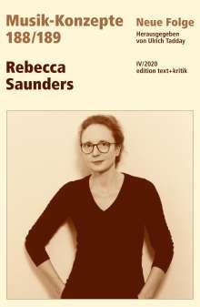 Rebecca Saunders, Buch