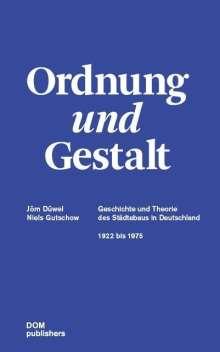 Jörn Düwel: Ordnung und Gestalt, Buch
