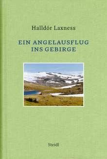 Halldór Laxness: Ein Angelausflug ins Gebirge, Buch