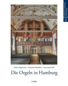 Günter Seggermann: Die Orgeln in Hamburg, Buch
