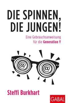 Steffi Burkhart: Die spinnen, die Jungen!, Buch