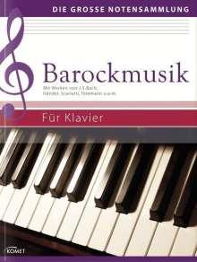 Barockmusik für Klavier, Noten