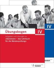 Übungsbogen für die Meisterprüfung Teil IV, Buch