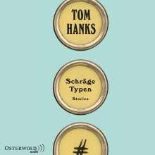 Tom Hanks: Schräge Typen, 7 CDs