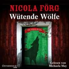 Nicola Förg: Wütende Wölfe (Alpen-Krimis 10), 5 CDs