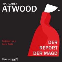 Margaret Atwood: Der Report Der Magd, 2 MP3-CDs
