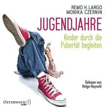 Remo H.Largo,Monika Czernin: Jugendjahre, 2 MP3-CDs