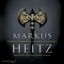 Markus Heitz: Zwerge. Die komplette Saga ungekürzt (Die Zwerge ), 19 Diverses