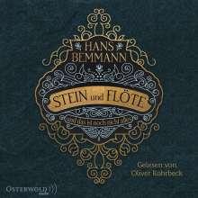 Hans Bemmann: Stein Und Flöte, 4 MP3-CDs