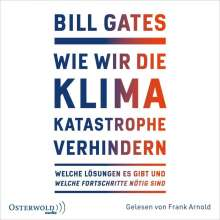 Bill Gates: Wie Wir Die Klimakatastrophe Abwenden, 2 MP3-CDs