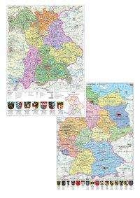Heinrich Stiefel: Bayern politisch / Deutschland politisch DUO-Schreibunterlage (Hochformat), Diverse