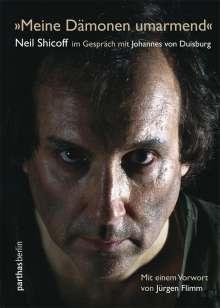"""Johannes von Duisburg: """"Meine Dämonen umarmend"""", Buch"""