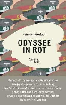 Heinrich Gerlach: Odyssee in Rot, Buch