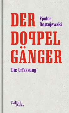 Fjodor M. Dostojewski: Der Doppelgänger, Buch