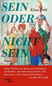 Klaus Pohl: Sein oder Nichtsein, Buch