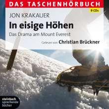 Jon Krakauer: In eisige Höhen - Das Taschenhörbuch, 9 CDs
