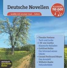 Deutsche Novellen - Klassiker to go, 6 CDs