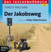 Shirley MacLaine: Der Jakobsweg -  Eine spirituelle Reise, 4 CDs