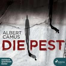 Albert Camus: Die Pest, 3 CDs