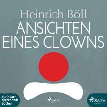 Heinrich Böll: Ansichten eines Clowns, MP3-CD