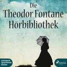 Die Theodor Fontane Hörbibliotek, 6 MP3-CDs