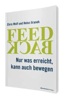 Chris Wolf: Feedback, Buch