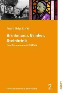 Friedel Helga Roolfs: Brinkmann, Brinker, Steinbrink, Buch