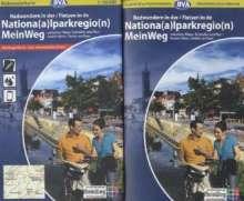 Nationalparkregion Mein Weg 1 : 50 000. Radwanderkarte, Diverse