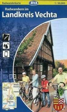 Landkreis Vechta 1 : 50 000. Radwanderkarte, Diverse