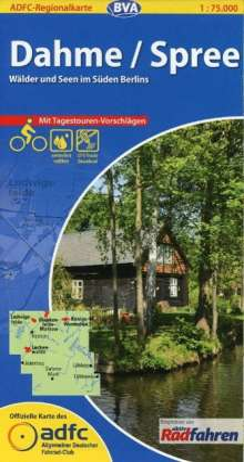 ADFC-Regionalkarte Dahme / Spree 1 : 75 000, Diverse