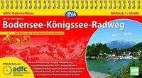 Otmar Steinbicker: ADFC Radreiseführer Bodensee - Königssee Radweg 1 : 50 000, Diverse
