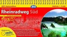 Otmar Steinbicker: ADFC Radreiseführer Rheinradweg Süd 1 : 75 000, Diverse